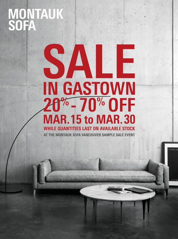 Gastown Sample Sale