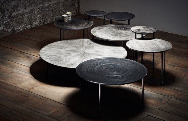 MOS design Tables Now at Montauk Sofa